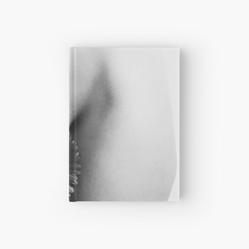 vagina flower Hardcover Journal