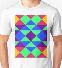 Tripping - 1, Madras Pattern T-Shirt