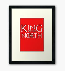 Tom Brady King Of The North Framed Print