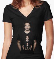 Todd Sampson  Women's Fitted V-Neck T-Shirt