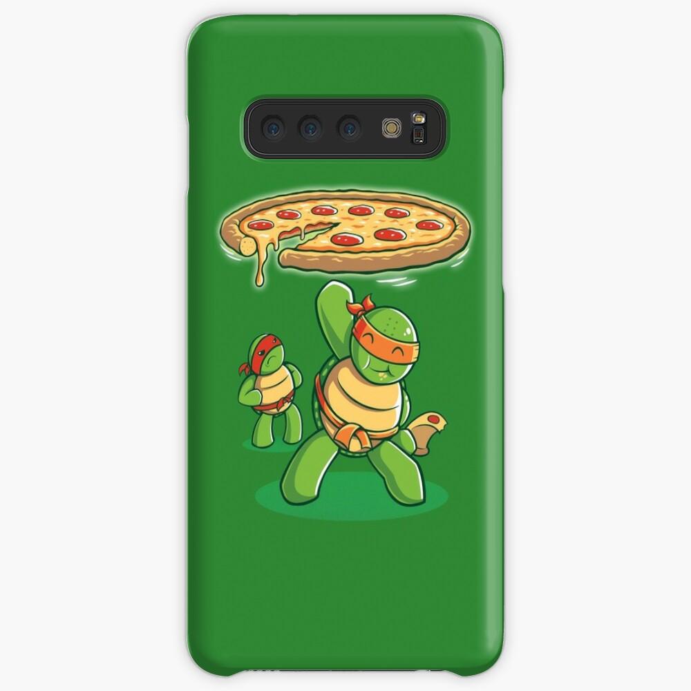 Delicious Disk Attack - Ninja Turtles Fundas y vinilos para Samsung Galaxy