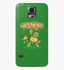 Funda/vinilo para Samsung Galaxy Delicious Disk Attack - Ninja Turtles