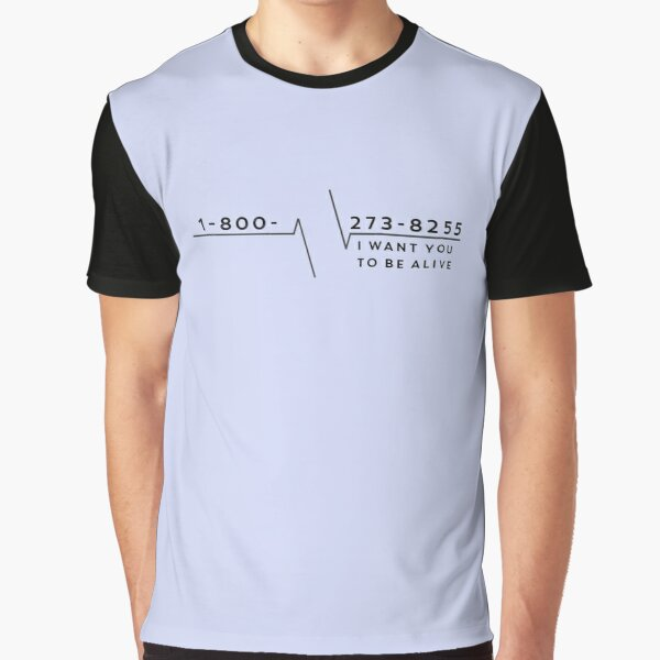 Suicide Hotline Graphic T-Shirt