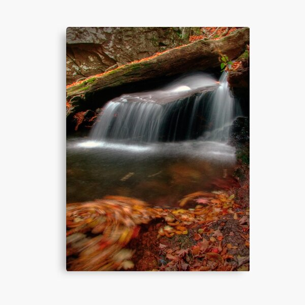 Delicate Cascade (revisited) Canvas Print