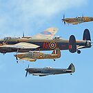 The Battle Of Britain Memorial Flight - RIAT 2017 - 2 by Colin  Williams Photography
