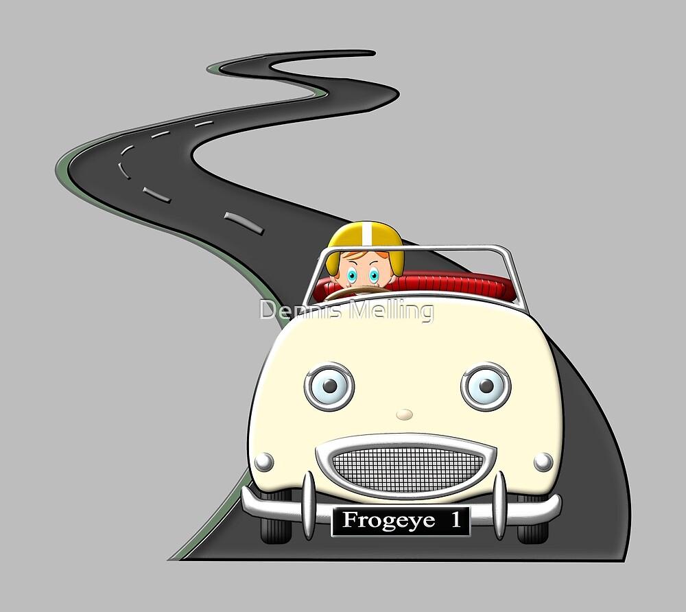Frogeye  'Sprite'  Sports Car by Dennis Melling