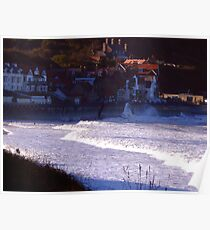 Sea Front Sandsend Poster