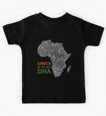Afrika ist in meiner DNA Kinder T-Shirt