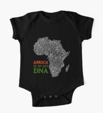 Afrika ist in meiner DNA Kurzärmeliger Einteiler