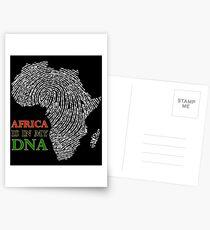 Afrika ist in meiner DNA Postkarten