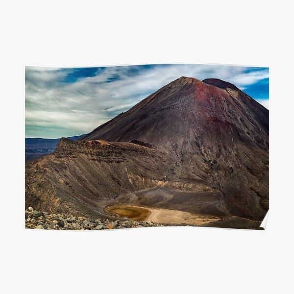 Mt Ngauruhoe Poster