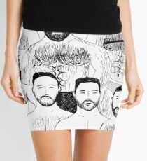 Beard Boys Mini Skirt
