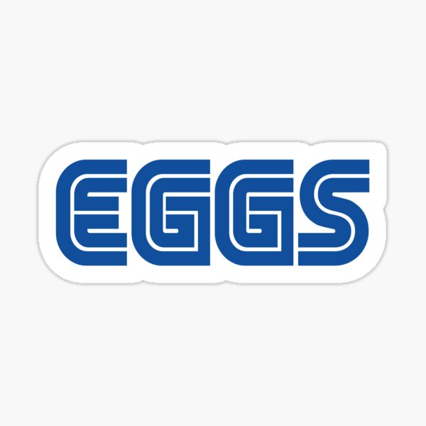 EGGS - Game Company Parody Sticker