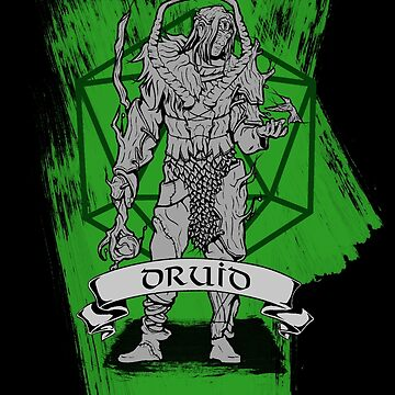D&D Class - Druid by explosivebarrel