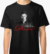 Lucifer Morningstar - What do you desire? Classic T-Shirt