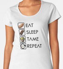Ark Survival Evolved - Eat, Sleep, Tame, Repeat. Women's Premium T-Shirt