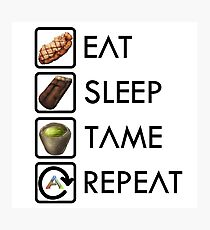Ark Survival Evolved - Eat, Sleep, Tame, Repeat. Photographic Print