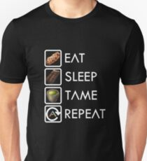 Ark Survival Evolved - Eat, Sleep, Tame, Repeat. T-Shirt