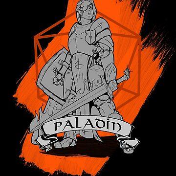 D&D Class - Paladin by explosivebarrel
