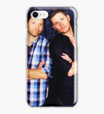 Jensen and Misha iPhone Case/Skin
