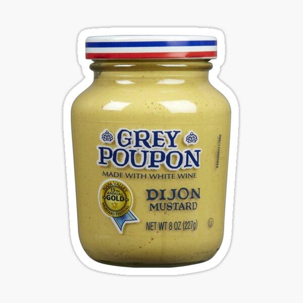 Grey Poupon Sticker