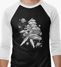 Space Whale Men's Baseball ¾ T-Shirt