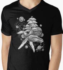 Space Whale Men's V-Neck T-Shirt