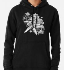 Space Whale Pullover Hoodie