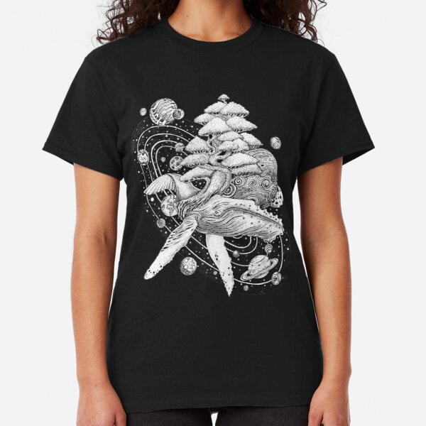 Space Whale Classic T-Shirt