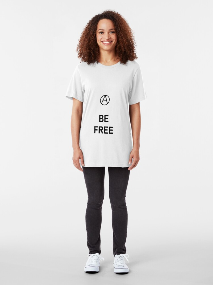 Alternate view of BE FREE Slim Fit T-Shirt