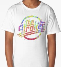 The Strokes - Psychedelic Logo Long T-Shirt
