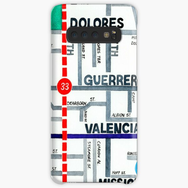 San Francisco map - Mission Samsung Galaxy Snap Case