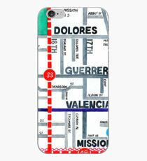 San Francisco map - Mission iPhone Case
