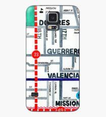 San Francisco map - Mission Case/Skin for Samsung Galaxy