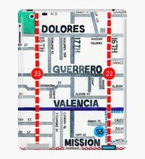 San Francisco map - Mission iPad Case/Skin