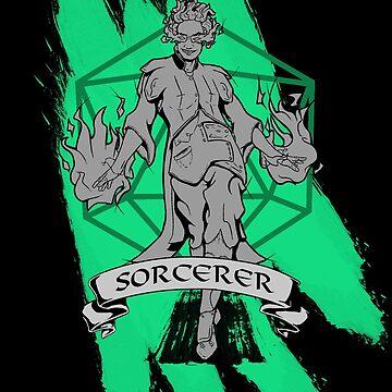 D&D Classes - Sorcerer by explosivebarrel