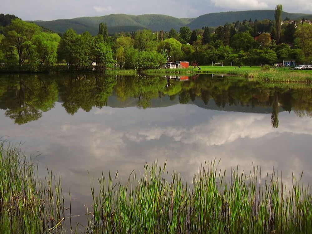 Pancharevo lake, Bulgaria by tonymm6491
