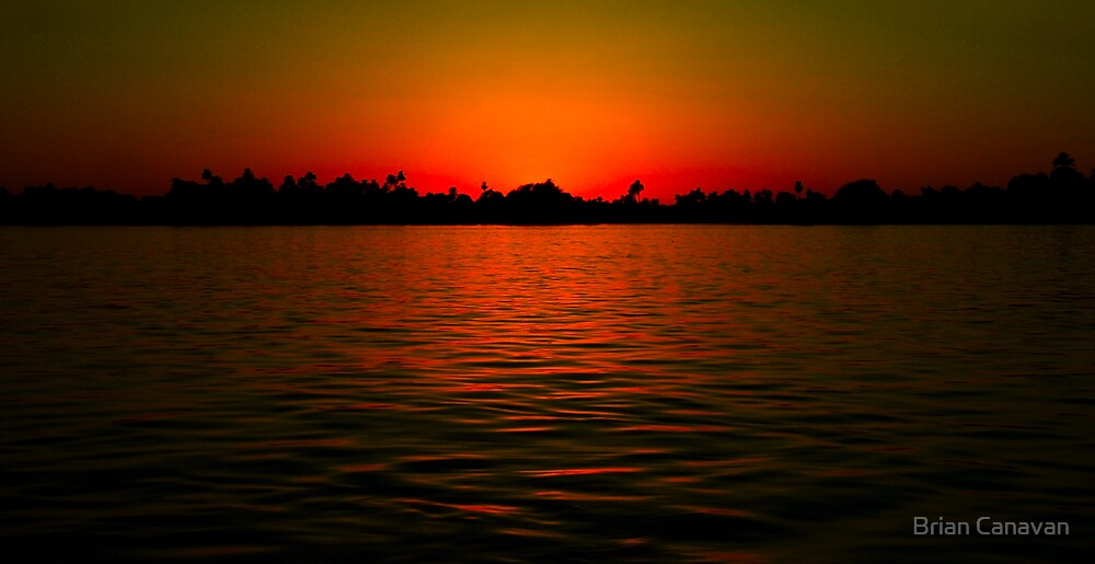 Nile Sunset by Brian Canavan