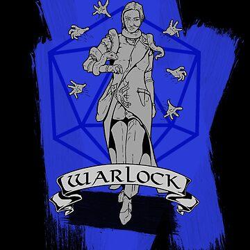 D&D Class - Warlock by explosivebarrel
