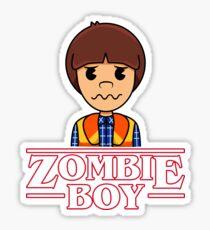WILL THE ZOMBIE BOY Sticker