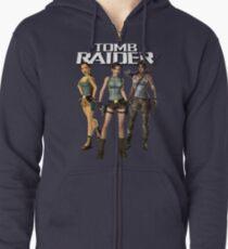 Lara Croft - Tomb Raider Zipped Hoodie