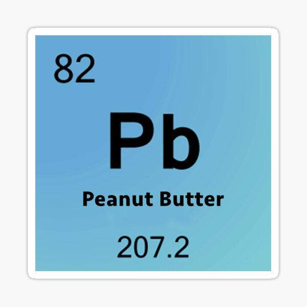 Peanut Butter Element Sticker