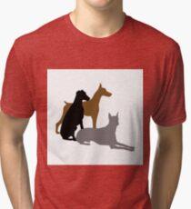Doberman Tri-blend T-Shirt