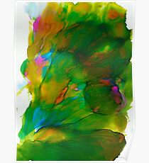 abstract ink b Poster