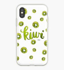 H.S. - Kiwi iPhone-Hülle & Cover