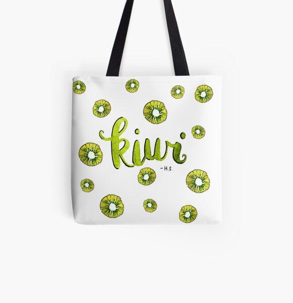 H.S. - Kiwi All Over Print Tote Bag