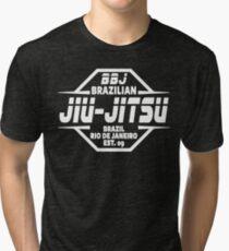 JIU JITSU - BRAZILIAN JIU JITSU Tri-blend T-Shirt