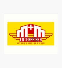 M&M Enterprises (Wings) Art Print