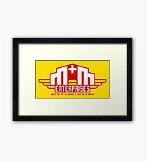 M&M Enterprises (Wings) Framed Print