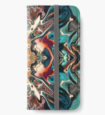Chaos Meets Symmetry iPhone Wallet